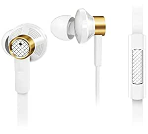 Jiyanshi Wired Headphone/Earphone/Stereo Headphone (White) with Super Sound 3.5MM Jack Compatible For Alcatel Flash 2