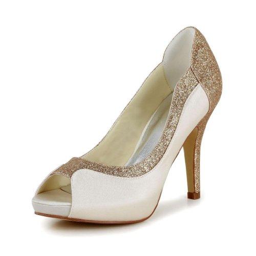 Jia Jia Wedding 37075 Scarpe Sposa Scarpe col tacco donna Sekt