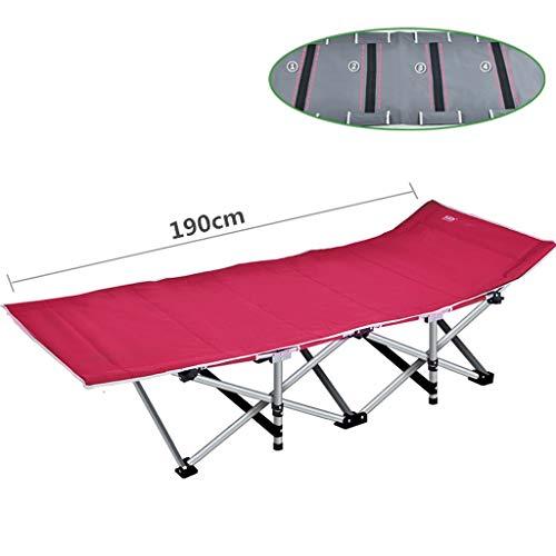 Mai bed Lit de Camping Pliant Stable Solide avec Sac de Transport