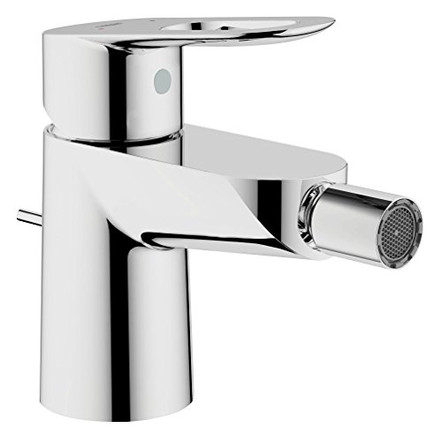 GROHE Start Loop 23352000 Single Lever Bidet Armatur inkl. Pop Up Ablaufgarnitur, chrom