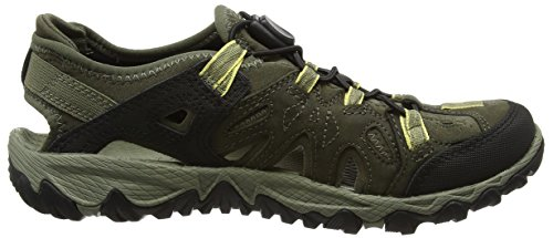 Merrell All Out Blaze Sieve, Sandales femme Multicolore (Olive Night)