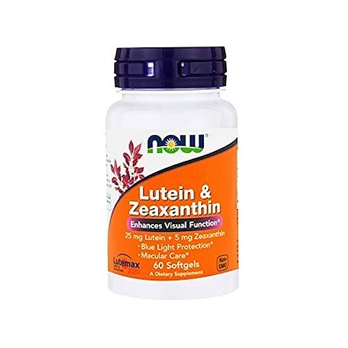 NOW NF Lutein & Zeaxanthin, 60 Kapseln -