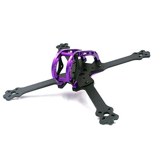 LaDicha Alfa-LX5 220mm 3K Carbon-Faser True X FPV Racing Frame Kit 4mm Arm Dicke für RC Drohne multirotor