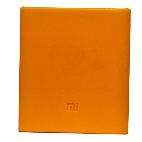 J Soft Silicone Protector Case Cover for Xiaomi Mi 10400 mAh Power Bank ( Powerbank Not Included ) - Orange  available at amazon for Rs.239