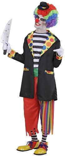Imagen de widman  disfraz de halloween payaso malvado para hombre, talla xl w3794 xl