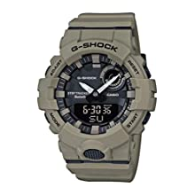Casio Mens Analogue-Digital Quartz Watch with Plastic Strap GBA-800UC-5AER, Brown