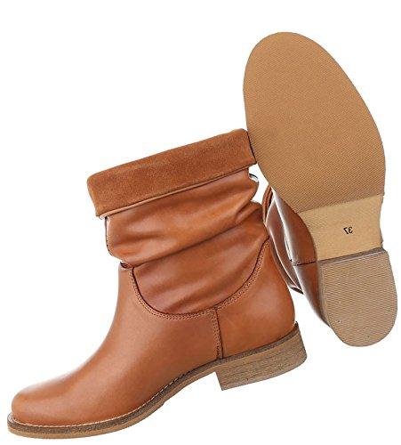 Damen Stiefeletten Schuhe Stiefel Leder Boots Schwarz Beige Rot 36 37 38 39 40 41 Camel