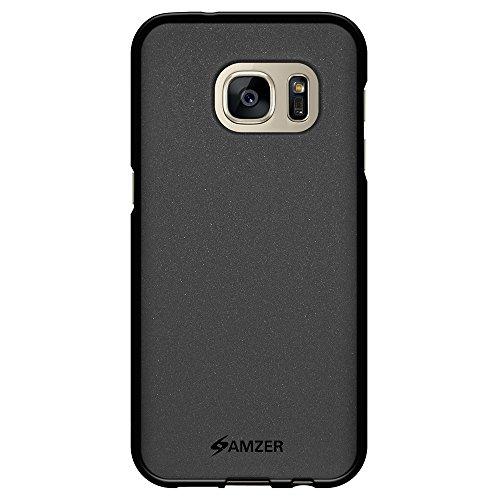 Amzer AMZ98249 Pudding TPU Phone Case for Samsung Galaxy S7 SM G930F  Black