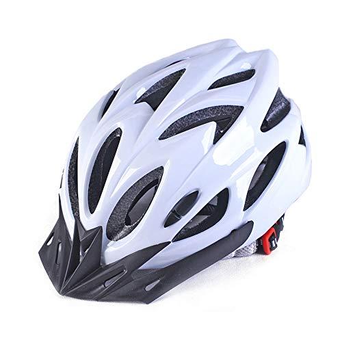 WLJBY Adult Bike Helmet - Leichter Fahrradhelm Integral geformter EPS Lightweight Outdoor Sport mit abnehmbarem Visier für Teen/Youth Fahrradhelme