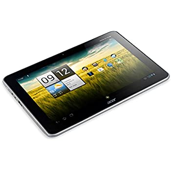 Acer Iconia A210 10.1 inch Tablet - Grey (Nvidia Tegra T30L 1.2GHz, 1GB RAM, 16GB SSD, WiFi, BT, 2x Webcam, Android 4.1)