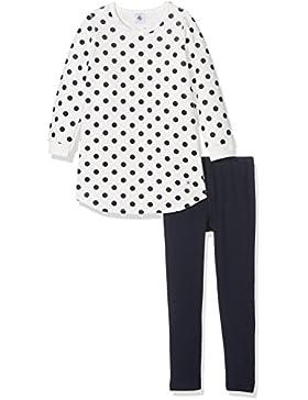 Petit Bateau Mädchen Zweiteiliger Schlafanzug Pyjama