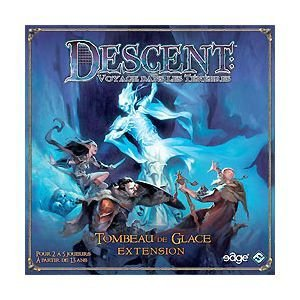 Fantasy Flight Games VA59 - Descent: Tomb of Ice Expansion, englische Ausgabe