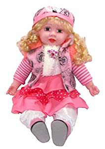 Tickles Musical Doll Stuffed Plush Soft Toy Birthday Gift
