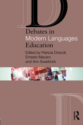 Debates in Modern Languages Education Cover Image