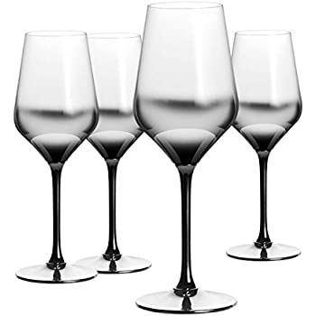 Set of 2 Black ART13611PK2 Artland Midnight Wine Glass