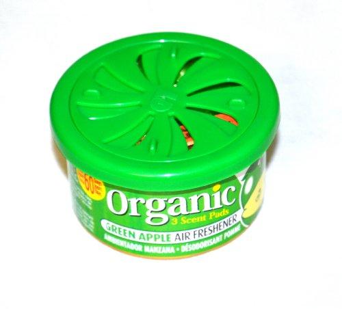 Preisvergleich Produktbild Organic Scents Cans for Cars Duftdose Green Apple - Apfel Lufterfrischer 38g