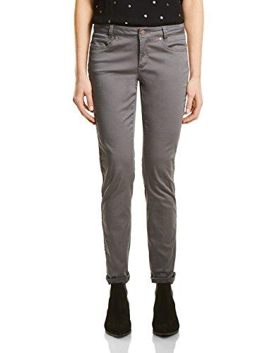 Street One, Pantaloni Donna Grau (Mellow Grey 11163)