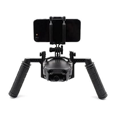 For DJI Mavic AIR Drone,Diadia Camera Tray Handheld Gimbal Stabilizer Bracket Kit For DJI Mavic Air Drone Parts -Camera Tray Holder+Top mounting plate+Phone holder+Screw bag+2×Handle sleeve