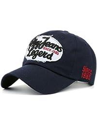 Gorra de beisbol ❤️Koly Unisex Sombrero para hombre mujer Sombreros unisex Gorra de béisbol ajustable gorras planas hombre hip hop gorras hombre beisbol organizador gorras Flat Hat Cap (����Armada, 54 ~ 60cm)