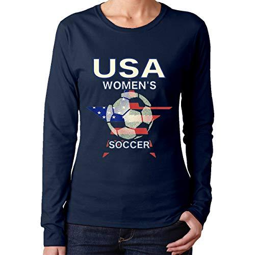 Women Soccer USA Team France 2019 World Tournament Women's Long Sleeve T-Shirts
