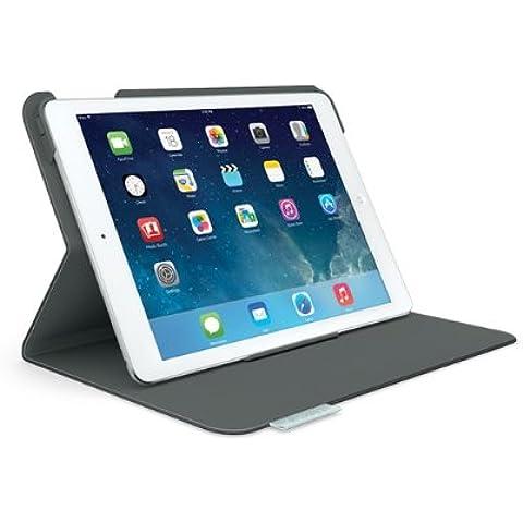 Logitech Folio - Funda para tablet iPad Air (cierre magnético, 2 posiciones), negro