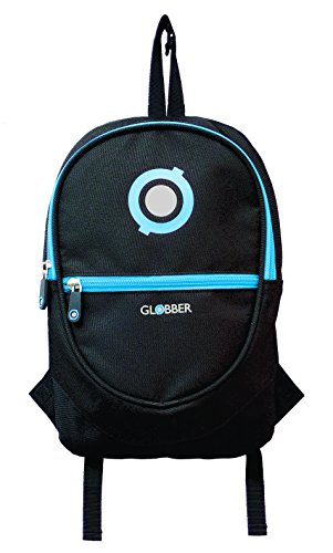 Globber Back Pack-Schwarz und Himmelblau (Blinken Teen Schwarze)