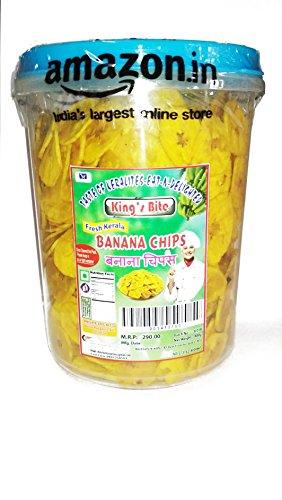 KING's BITE Fresh Kerala Banana Chips, 400g