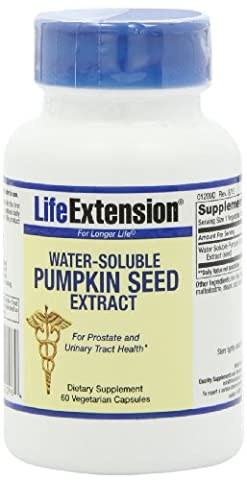Water-Soluble Pumpkin Seed Extract, 60 vegetarian capsules