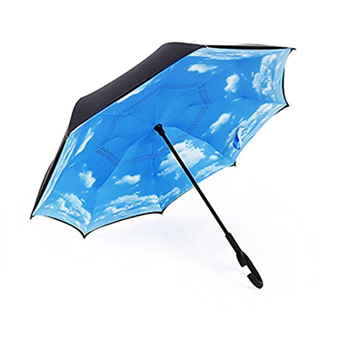 JJPRIME Paraguas Cortavientos