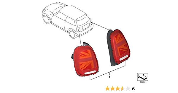 Original Mini Nachrüstsatz Heckleuchten Facelift Union Jack Für Mini F55 F56 Und F57 Auto