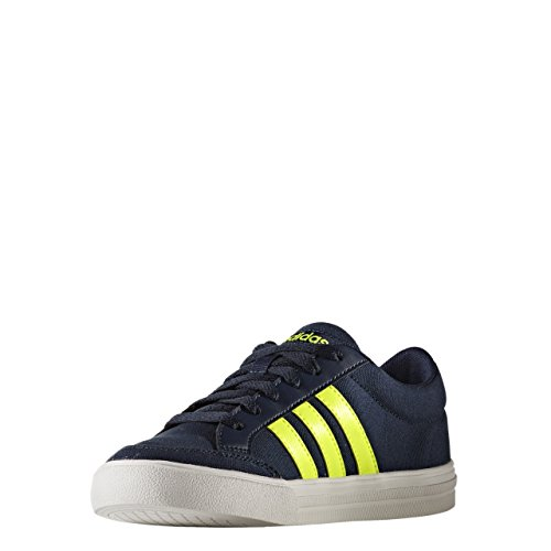 Adidas VS Set K – Chaussures deportivaspara enfants Collegiate Navy / Solar Yellow / FTWR White