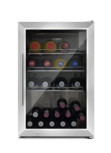 CASO Barbecue Cooler - Design Outdoor/ Barbecue Getränkekühlschrank mit ca. 63 Liter Lagervolumen,...