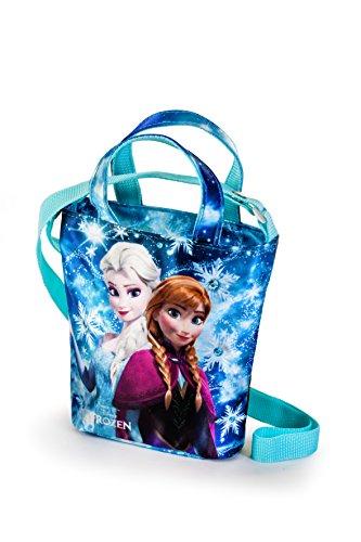 Frozen d96021 mc borsa sportiva per bambini, 20 cm, multicolore