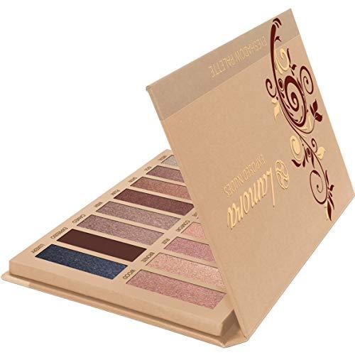 Palette Fard À Paupière Maquillage Yeux - Nude 16 Couleurs Shimmer Matte Ultra Pigmenté Ombre A Paupière
