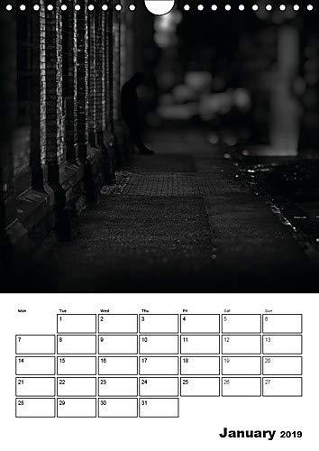 City Noir Collection (Wall Calendar 2019 DIN A4 Portrait): Homage to Film Noir. (Timer, 14 pages ) (Calvendo Art)