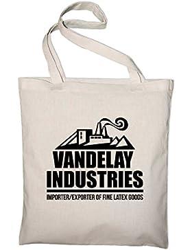 Vandelay Industries Seinfeld Jutebeutel, Beutel, Stoffbeutel, Baumwolltasche
