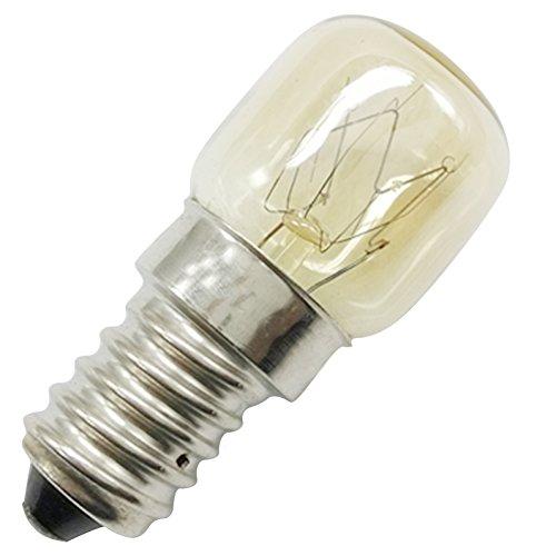 Homankit 8 Stück Glühbirne E14-15 Watt Spezial-Leuchtmittel für Salzlampe und Backofen -