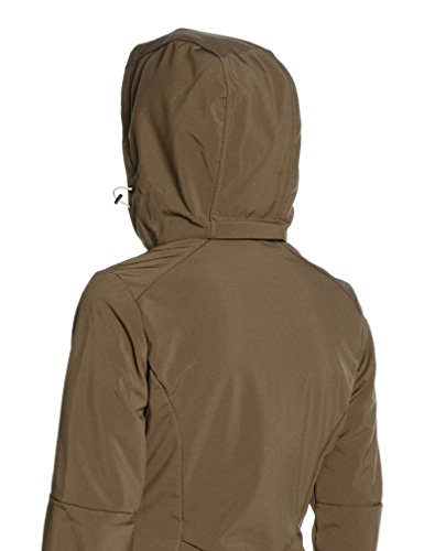 CMP Damen Softshell Mantel Braun (Wood/Sand)