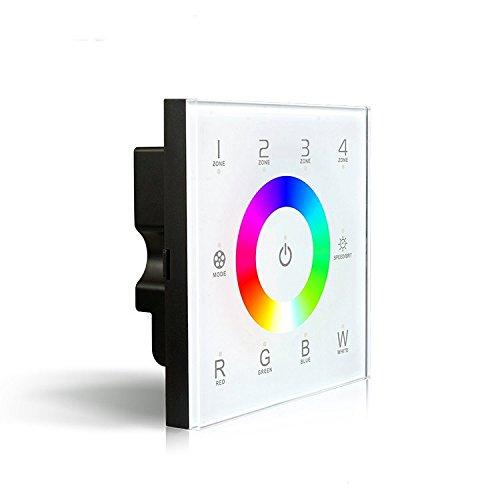 D8 DMX512 12-24V DC RGBW Touch Panel Controller für LED-RGBW-Lichtleisten -Lampen (5 Jahre Garantie)