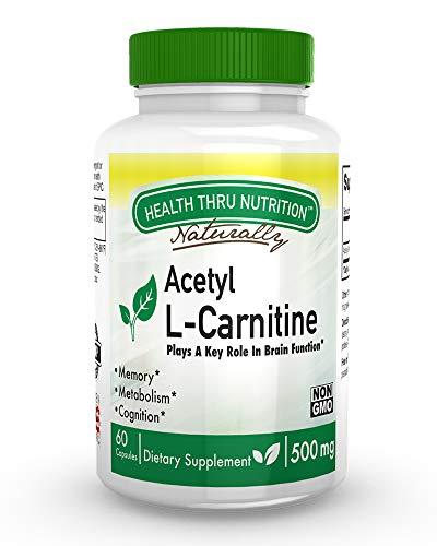 Acetil L-Carnitina 500 mg 60 Capsule Non OGM (60)