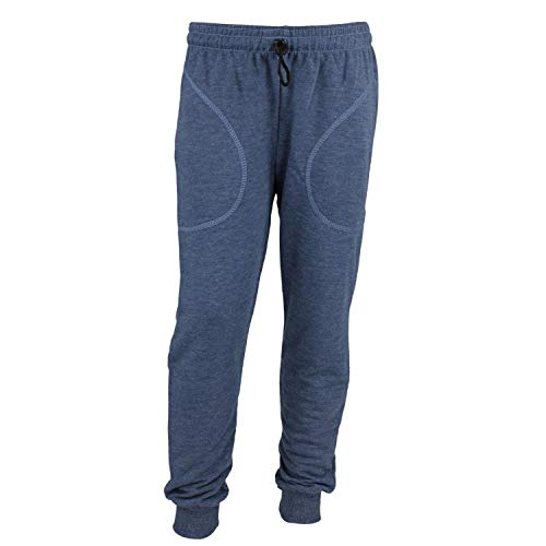 TupTam Jungen Jogginghose mit Bündchen Unifarben, Farbe: Jeans, Größe: 104 cm
