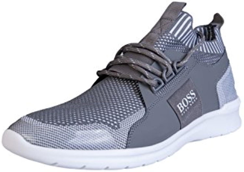 Hugo Boss Zapatillas de Algodón Para Hombre Gris Gris 44 -