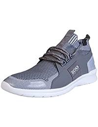 Hugo Boss Loinod - Zapatillas para hombre blanco blanco, color blanco, talla 44