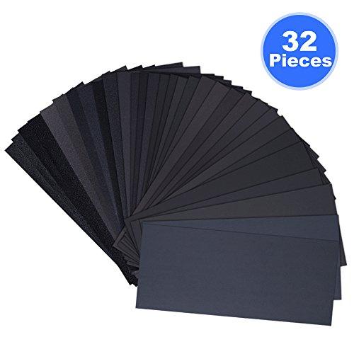32-pieces-120-a-3000-grit-assortiment-de-papier-de-verre-9-x-36-pouces-sec-humide-pour-le-poncage-au