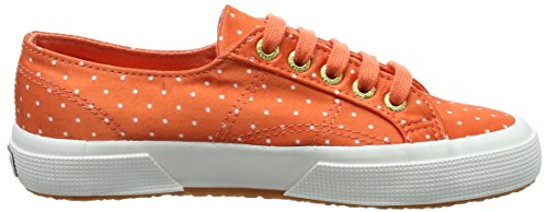 Superga 2750 Dotsatinw, Sneakers basses mixte adulte Pink (fresh Salmon Dots White)