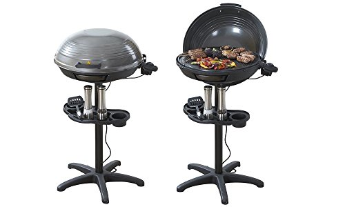 Cooks Professional Electric BBQ Grill With Built In Thermometer Gauge Ideal For Outdoor And Indoor Use All Year Round - 2000 Watts. Test