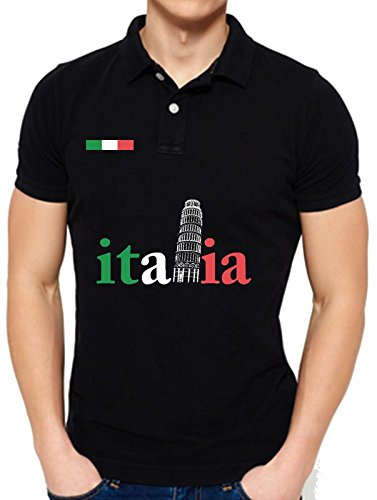 642 Stitches Italy in World Cup Men's Polo T-Shirt