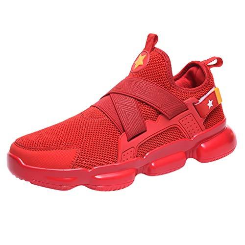 CLOOM Scarpe da Uomo, Scarpe da Trail Running Uomo, Scarpe con Rialzo da Ginnastica Sportive Leggero, Scarpe da Skateboard Uomo Sneakers Running Basse Basket Sport
