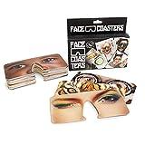 Party Masken Face Coasters 40 Motive Gesichtsaufdruck Partybilder Untersetzer