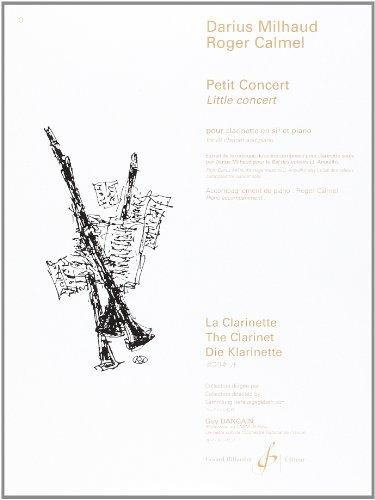 Petit Concert pour clarinette en si bém...